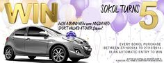 Celebrate Sokol's 5th Birthday and WIN a Car - The Stylist Splash