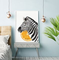 Get this Zebra art print to decorate your empty walls. This Zebra painting is perfect to embellish your living room, bedroom, nursery room and any other room you would like to beautify. You can also have a look through my shop where you can explore many other decoration ideas and prints.☺ Zebra Print, Zebra Painting, Zebra Head, Living Room Wall Art, Zebra Art, Zebra Wall Art, Living Room Art, Safari Animal Print, Zebra Decor → Your art print will be originally signed and numbered by the a... Zebra Decor, Zebra Art, Pink Accent Walls, Accent Wall Bedroom, Zebra Painting, Inspiration Wall, Creative Inspiration, Wall Molding, Animal Decor