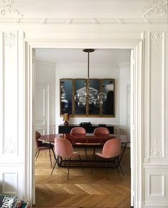 beetle chair in rosé - pure love