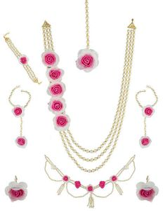 8 Best Fresh Flower Jewellery For Baby Shower Floral Jewellery For A