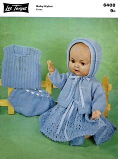 Vintage Doll's Outfit for 16 Doll by DaleStratford on Etsy