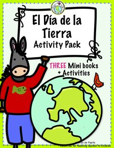 Celebrate Earth Day el Día de la Tierra with this set of THREE Mini books and activity pages in Spanish highlighting actions KIDS can take to care for the earth and the environment. Mundo de Pepita Resources for Teaching Languages to Children Preschool Spanish, Elementary Spanish, Spanish Activities, Elementary Teacher, Learning Spanish, Book Activities, Elementary Schools, Teaching Vocabulary, Teaching Themes