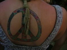 Cool Peace Tattoo