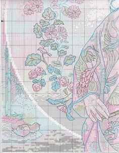 Схема вышивки Японская девушка (Dimensions) 3 из 4