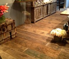 Wide plank floors!!!