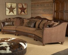 nice big couch for the family room