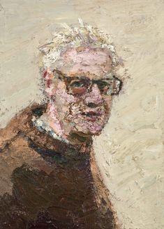 Yisrael Dror Hemed, Portrait, 2012, oil on canvas, 44x32 cm