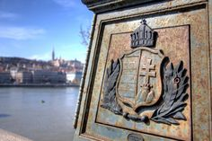 Hungarian Coat of Arms, Budapest, Hungary