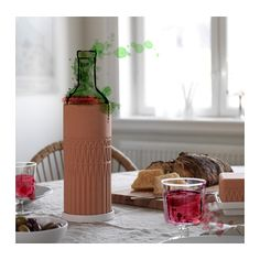 ANVÄNDBAR Wijnkoeler met schotel  - IKEA