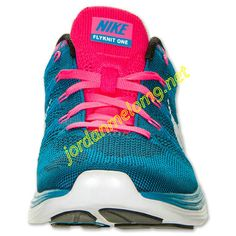 Neon Turq 554887 414 Nike Flyknit Lunar 1 Mens White Blue Pink
