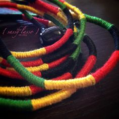 Rasta Theme Black Green Yellow & Red Custom Laced by thesassylasso Rasta Party, Red Green Yellow, Purple, Jamaican Party, Skullcandy Headphones, Lace Skull, Candy Brands, Silicone Gel, Gypsy