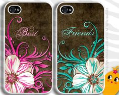 Best Friends iPhone Case Cover 4  5 Samsung by ChickieCards, $34.98
