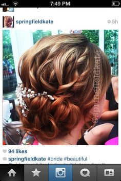 Easy up-do for formal dances or weddings