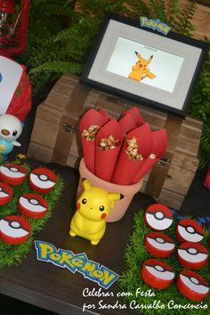 Encontrando Ideias: Festa Floresta do Pokémon!!!