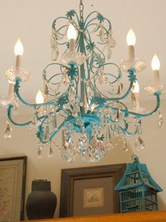 Turquoise_Chandelier_After