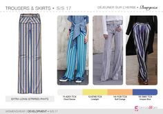 SS17   Womenswear   Development   Trousers & skirts