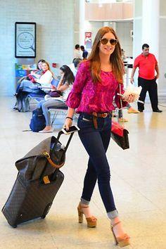 Veja looks de aeroporto de Marina Ruy Barbosa WePick