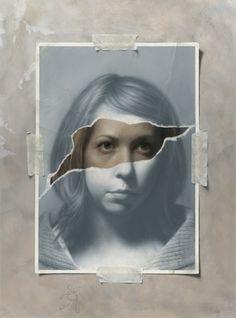 Hyper Realistic Paintings by Joshua Suda Surrealist Collage, Collage Art, Hyper Realistic Paintings, A Level Art, High Art, Photomontage, Altered Art, Art Lessons, Art Inspo