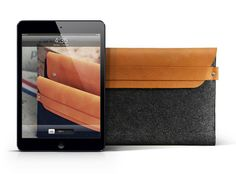 Mujjo iPad Mini Sleeve - 100% Wool Felt and Premium Leather - Why oh why are you no longer available???