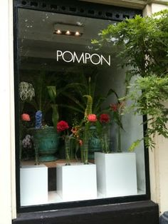 #Bloemenwinkel Pompon in #Amsterdam www.Pompon.nl