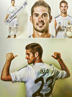 ISCO!!! Welcome to Real Madrid!!!....Cool name too lol