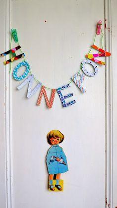 ingthings: DIY paper-word-banner