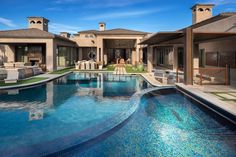 Modern Yard With Pool, Pergola, Water Feature, Steel Archway | HGTV Ultimate Outdoor Awards >> http://www.hgtv.com/design/packages/hgtv-ultimate-outdoor-awards/2016/outdoor-oasis/modern-yard-with-pool-pergola-water-feature-steel-archway?soc=pinterest