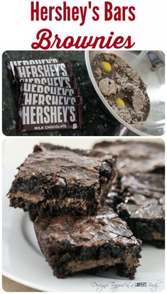 THESE ARE EPIC! These candy bar brownies are easy to make and are, quite simply, the best brownies you will ever eat.
