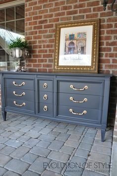 Dresser Transformed With Amy Howardu0027s One Step Paint