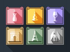 Icons, 02.2014 - 03.2014 on Behance