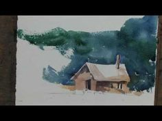 Professional watercolorist Tom Jones demonstrates how to paint smoke in your watercolor landscapes in this free art lesson.