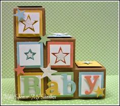 Nikki Spencer-My Sandbox: Block / Stair Step Cards Pt 2.....Link to tutorial!