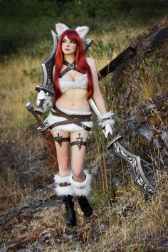 Submission Weekend! Katarina (Kitty Cat skin) from League of Legends Cosplayer/Submitter: Andy Rae [DA / FB]Photographer: ZRB