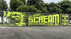 How a billboard for the US Open became a souvenir for tennis fans. Agency: Leo Burnett, Toronto