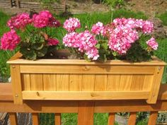 Window Boxes For Deck Railings | Deck Rail Plante r