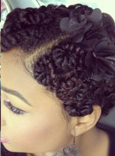 Pin Curled Twists - http://www.blackhairinformation.com/community/hairstyle-gallery/natural-hairstyles/pin-curled-twists/ #naturalhairstyles