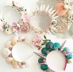 Mermaid Crowns #jewelry