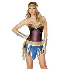 Warrior Princess Costume Set