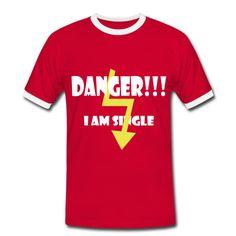 """Danger - i am single"" by Claudia-Moda"