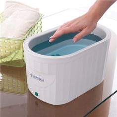 Therabath Professional Thermotherapy Paraffin Bath - Arthritis Treatment Relieves Muscle Stiffness - For Hands, Feet, Face and Body - 6 lbs of Paraffin Wax (ScentFree) Wax Therapy, Physical Therapy, Occupational Therapy, Arthritis Pain Relief, Rheumatoid Arthritis, Paraffin Wax Treatment, Wax Bath, Paraffin Bath, Massage
