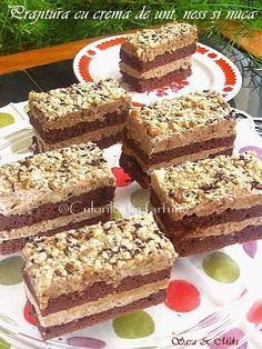 Cocoa cake with better cream, instant coffee and walnut Sweet Recipes, Cake Recipes, Cocoa Cake, Different Cakes, Food Cakes, Something Sweet, No Bake Desserts, Tiramisu, Banana Bread