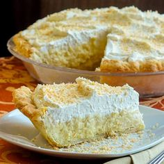 The Absolute Best Coconut Cream Pie...truly the absolute best! A creamy, old-fashioned coconut cream pie recipe that this avid baker has used for over 30 years. I have never tasted a better recipe.