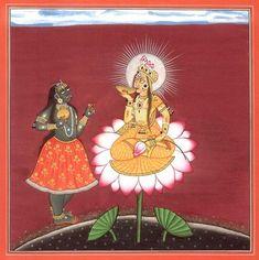 Tantric Devi Series - Siddha Lakshmi with Kali