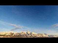 Grand Teton Sunrise [ March 18 ] Teton Tube, Time-lapse