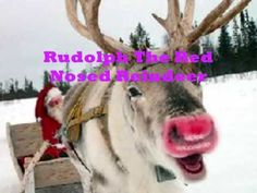 Rudolph The Red Nosed Reindeer....by Jim Reeves