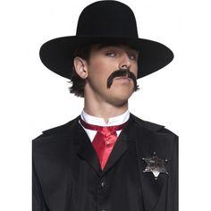 Sombrero de Sheriff del Oeste