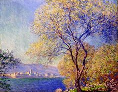 Antibes Seen from the Salis Gardens 01, 1888, Claude Monet