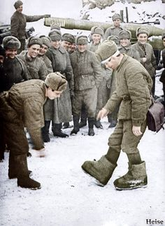 Soviet Soldiers at World War 2 in Color | English Russia | Page 3