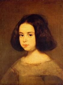 Portrait of a Little Girl - Diego Velazquez