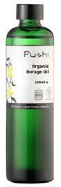 Borage Oil, Organic 100ml(3.52oz) by Fushi Wellbeing. $11.75. Borage oil also known as the Starflower is a popular choice with alternative health practitioners for its very many medicinal properties.Borage oil is rich in gamma linoleic acid (G.L.A.) an essential fatty acid needed as a precursor of prostaglandins, which are needed to regulate circulation and the hormonal system. This oil can be taken internally as well. Borage oil is beneficial for ageing skin; it helps countera...